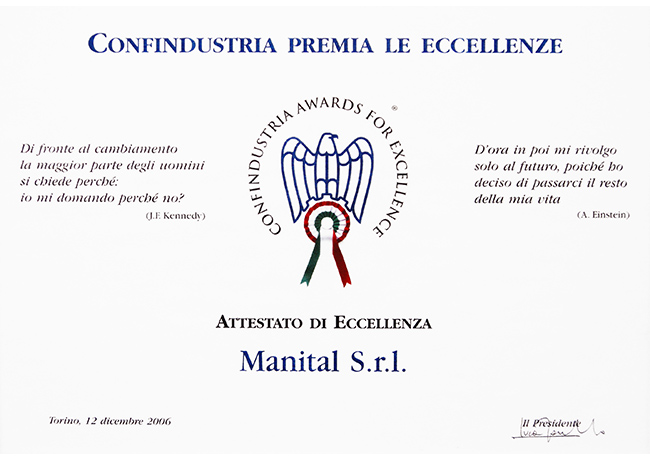 CONFINDUSTRIA EXCELLENCE